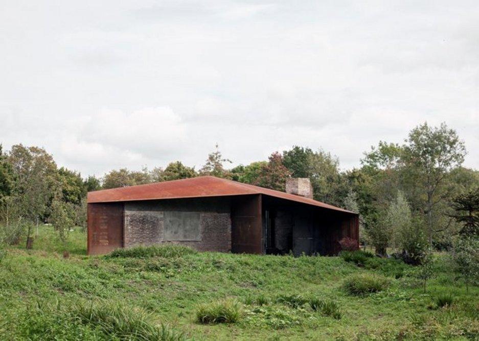Studio in a Ruin, East Sussex.