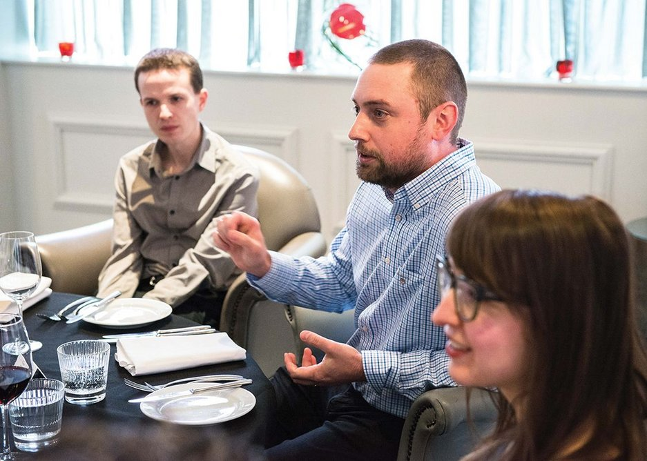 Joe Stott, BIM manager, AHR Architects.