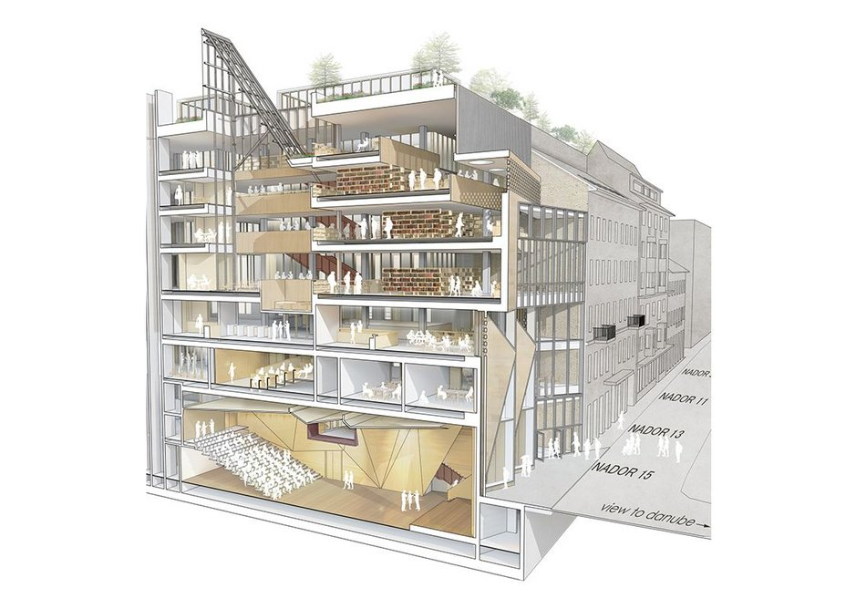CEU 3D Nador 15 sectional perspective