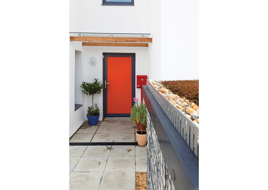 Doors and triple-glazed windows are certified to Passivhaus standard.