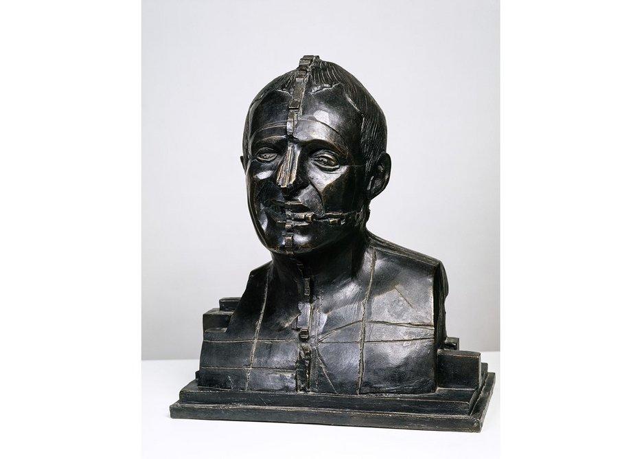 Eduardo Paolozzi, Portrait of Richard Rogers, 1988.