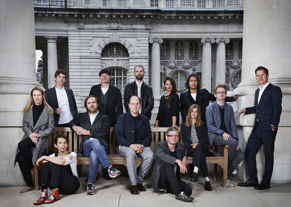 The Architects Portrait by Claudia Moroni