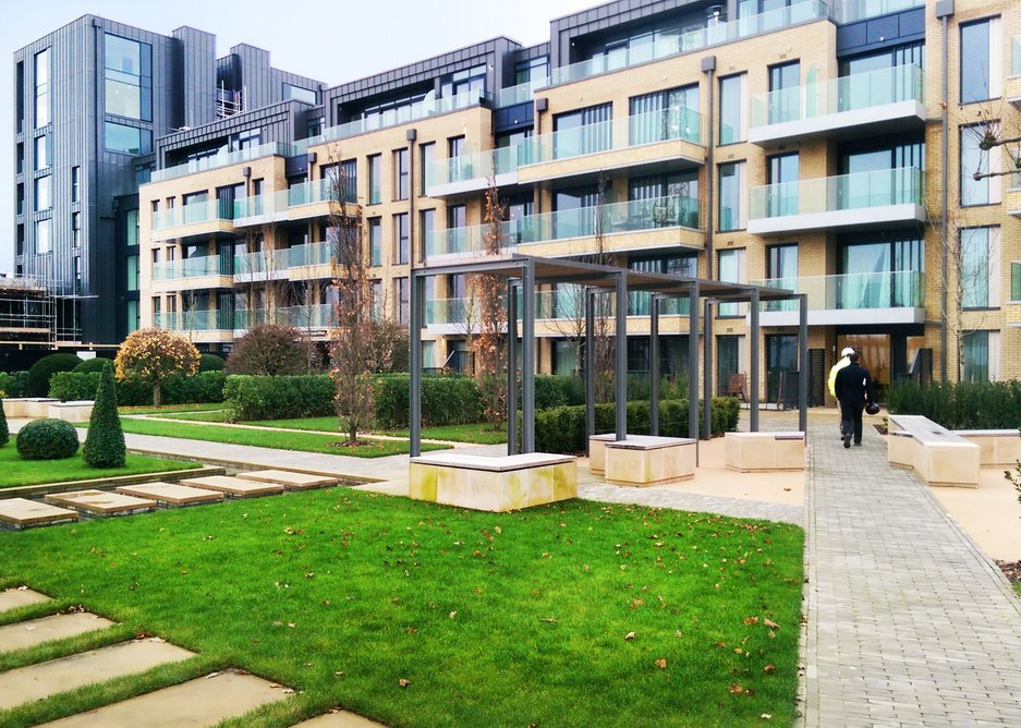 The project uses Axter's Wilotekt-Plus, Ecoflex and Starcoat systems