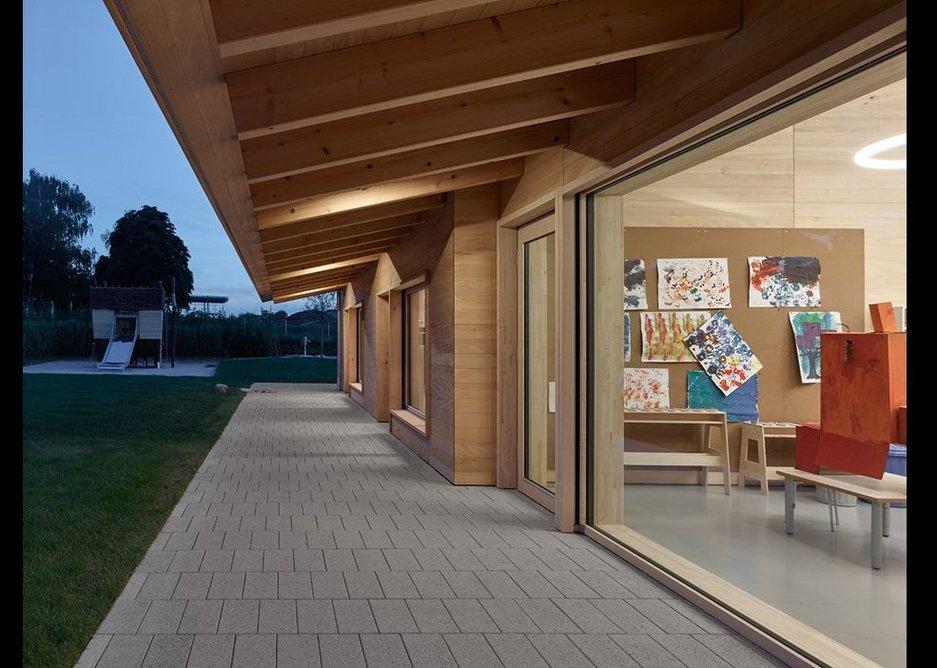 Trumpf Day-Care Centre by Barkow Leibinger.