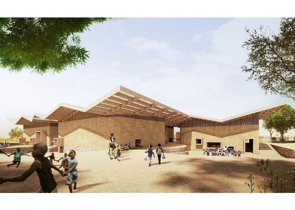 The upcoming Obama Legacy Campus in Kenya.