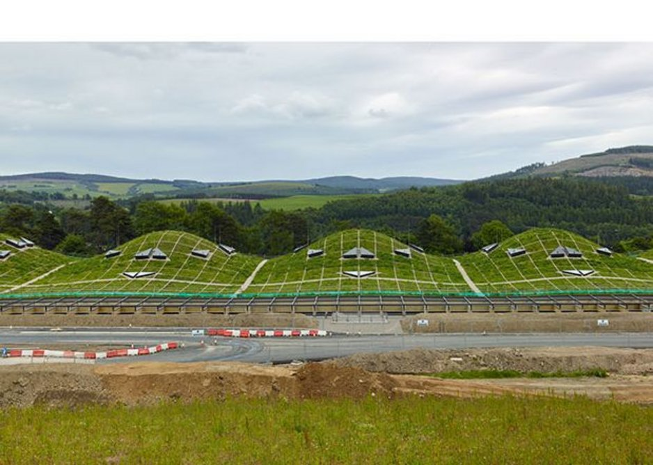 New 'humps' can be added to the building to enable Macallan to increase its whisky production by 5 million litres.