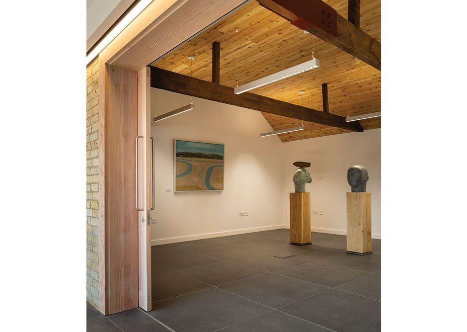 A Nordic influence can be seen in the gallery.