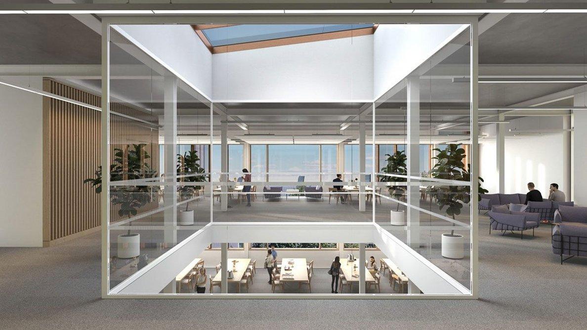 Visualisation of interior.