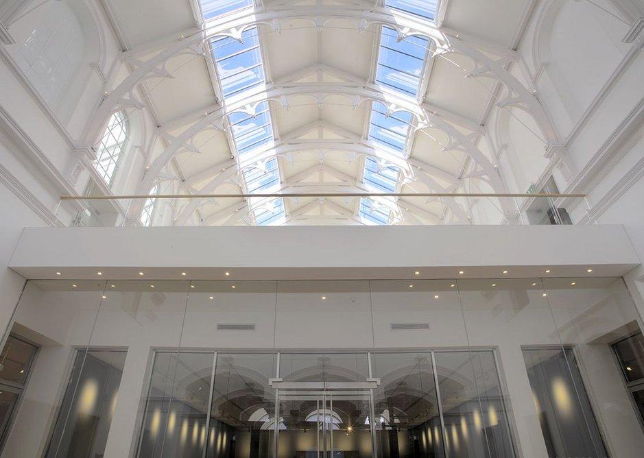 The mezzanine at York Art Gallery.