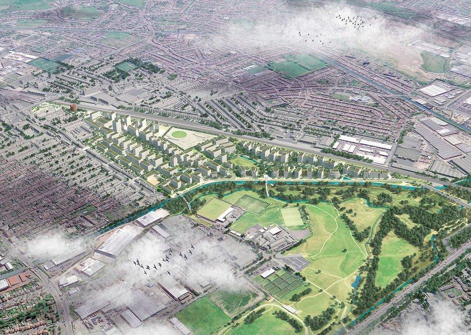 JTP's 25-year regeneration scheme in Southall.