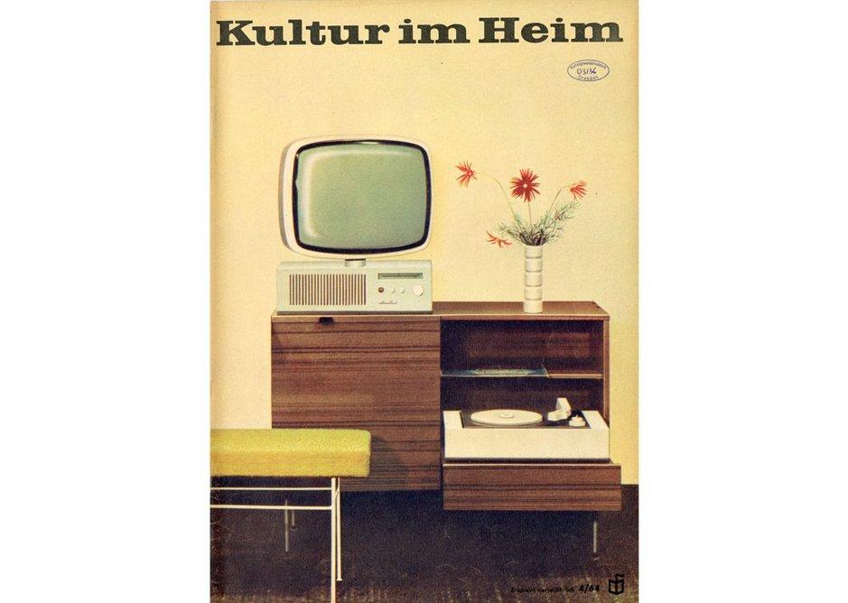 Cover of the magazine Kultur im Heim, Nr 4/1964.