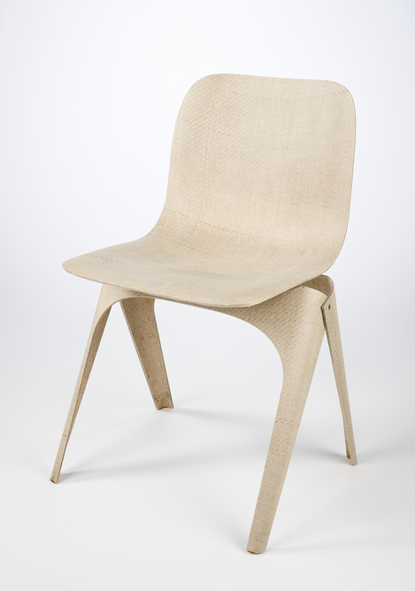 Flax chair by Christien Meinderstma (c) Victoria and Albert Museum, London. The biodegradable chair is included in the new Design 1900 – Now gallery at the V&A.