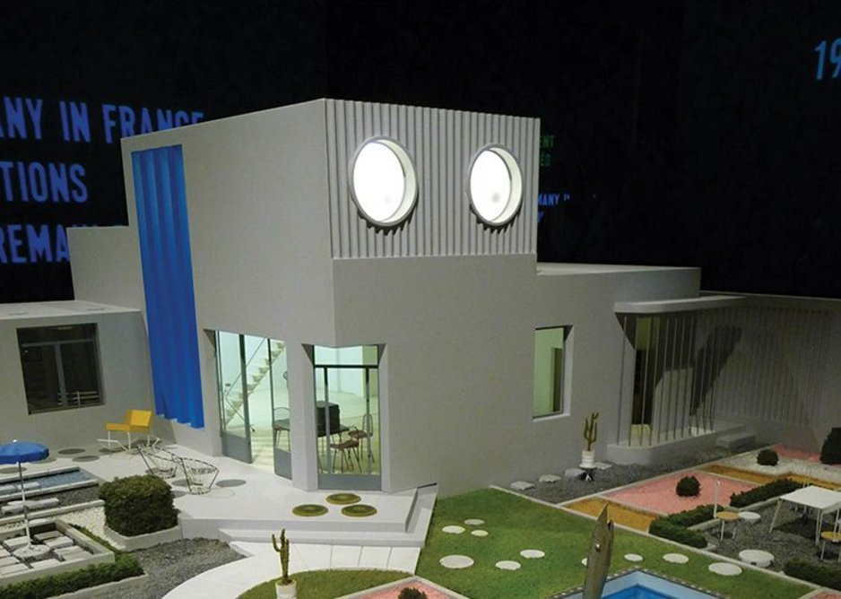 The French pavilion is taken over by director Jacques Tati's 1958 film 'Mon Oncle'.