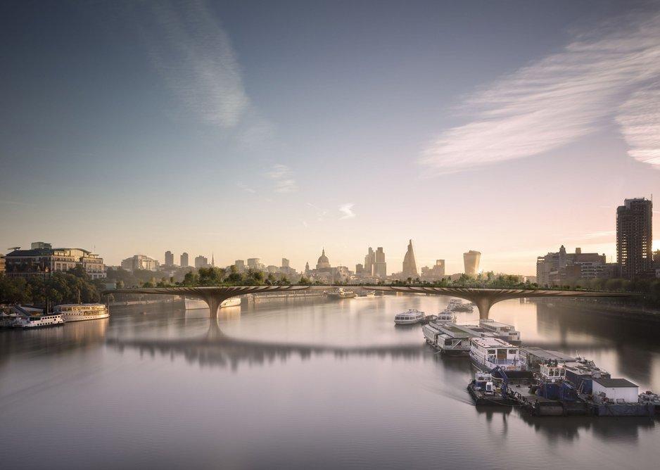 Thomas Heatherwick – proposed Garden Bridge.