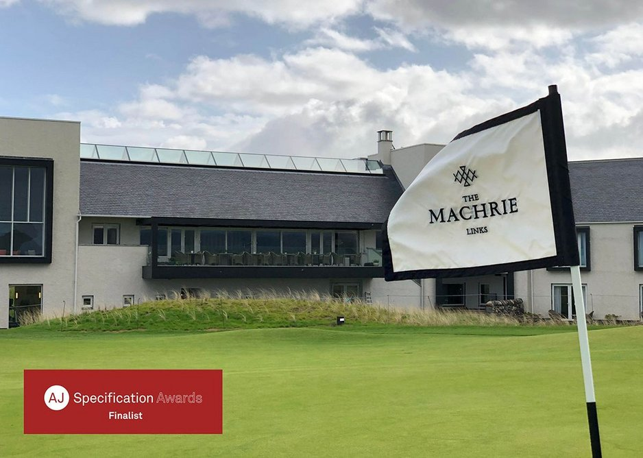 The Machrie Links was shortlisted for the 2019 AJ Specification Awards in the Doors and Windows category.