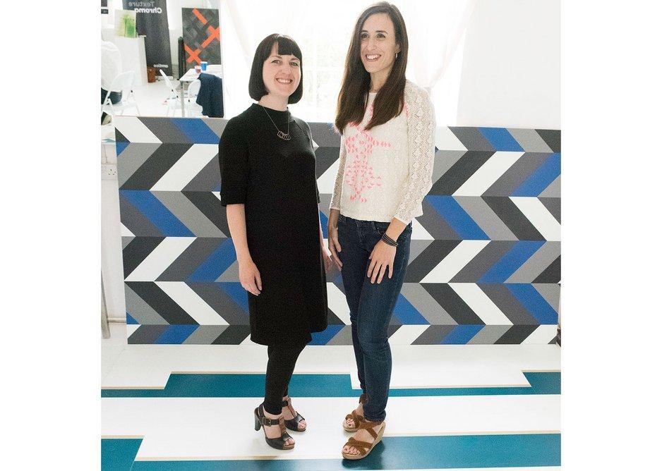 Cousins & Cousins' Rachel Welsby and Cristina Martin.