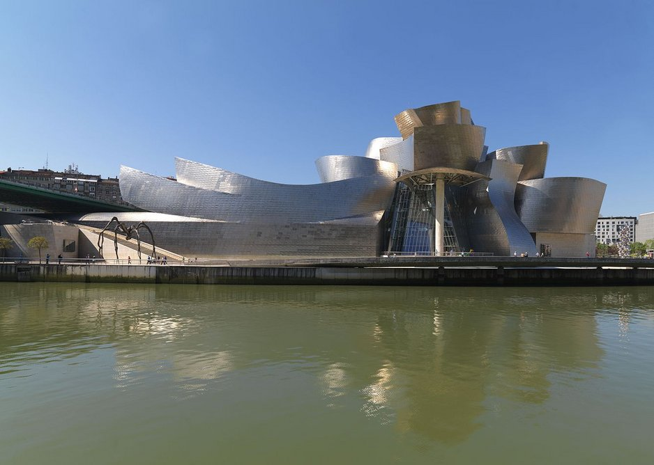 The Bilbao Guggenheim changes both how the city functions and how art is curated within its highly specific internal spaces.