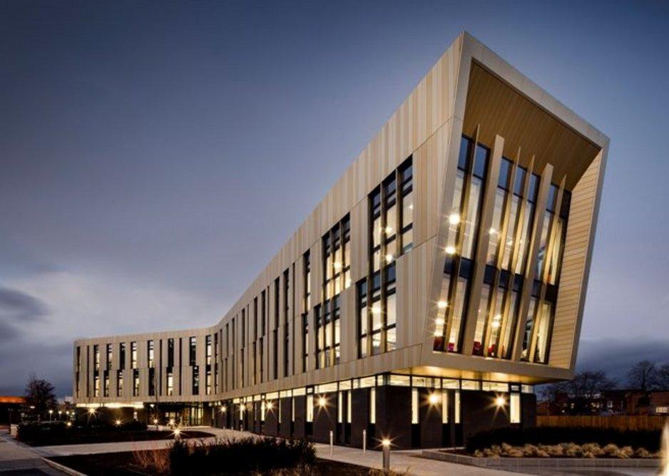 Advanced Manufacturing Building, University of Nottingham.