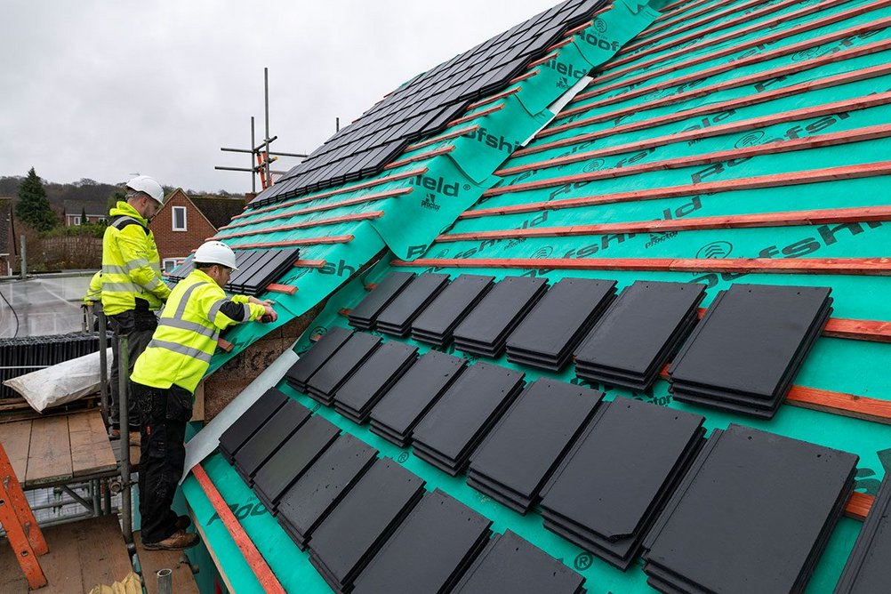 Roofshield roofing membrane allows high levels of airflow and the transport of moisture vapour, making the formation of condensation virtually impossible.