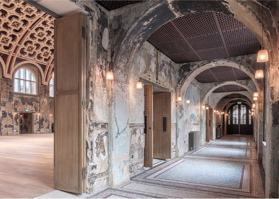 While at Haworth Tompkins, Kessler worked on Battersea Arts Centre.