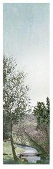 El Hórreo de agua.   Collage, 300mm  × 400mm.