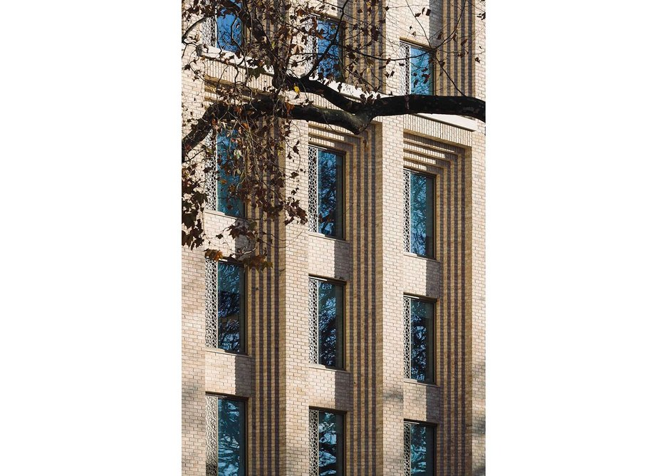 But in the end it is all about that exemplary facade by Maccreanor Lavington.