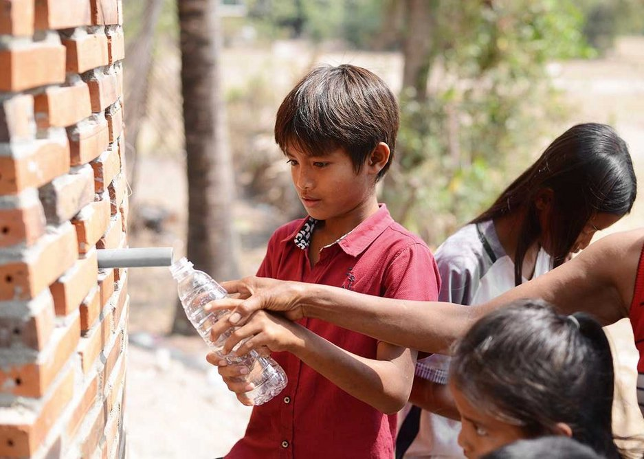Villagers now have water for the a fraction of the cost of getting it from private suppliers.