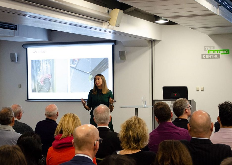 Olga Katsanova, Hilti head of technical, services and software, showed examples of best (and poor) practice.