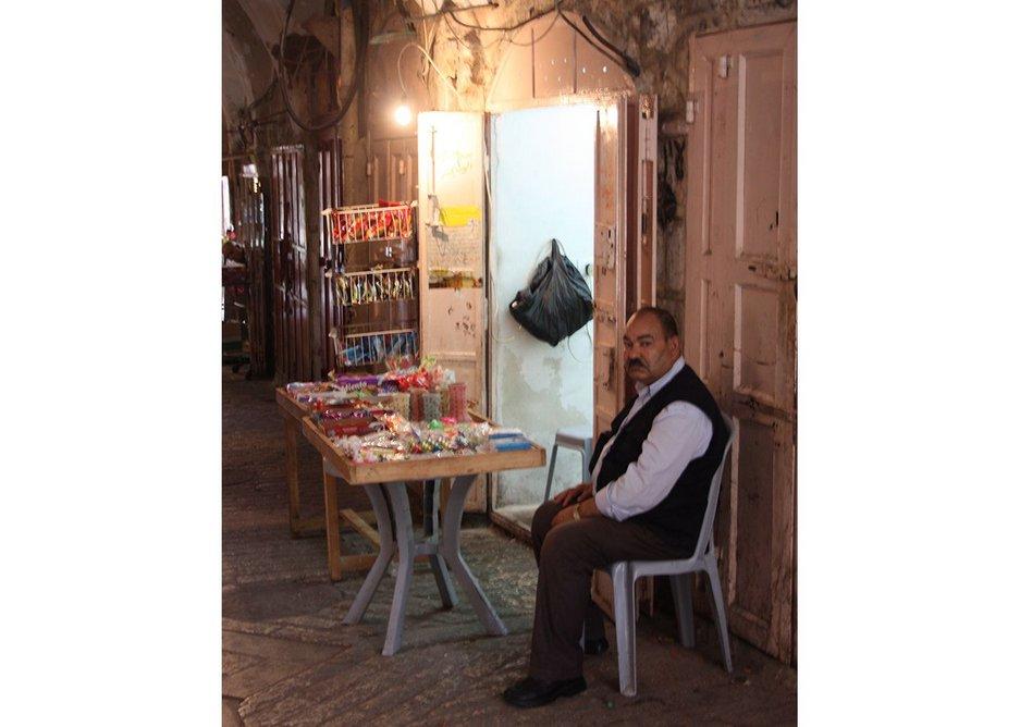 Hebron indoor market.
