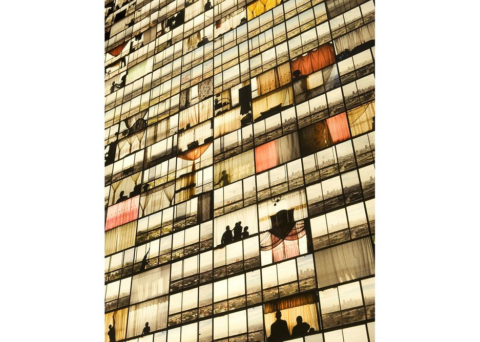 Aspirations, renewal and illusion in Johannesburg Mikhael Subotzky's  'Ponte City, Windows'.