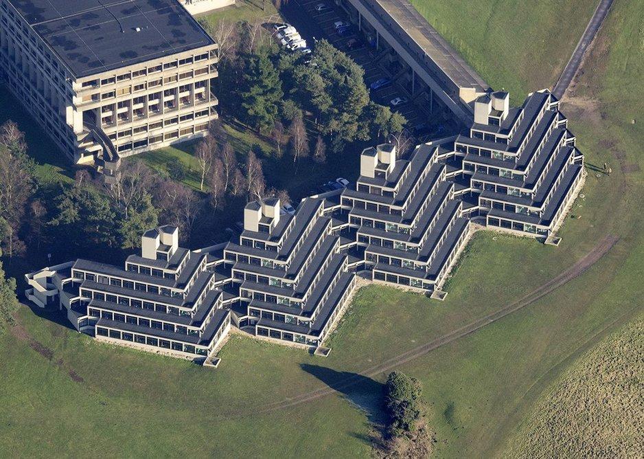 University of East Anglia ziggurat.