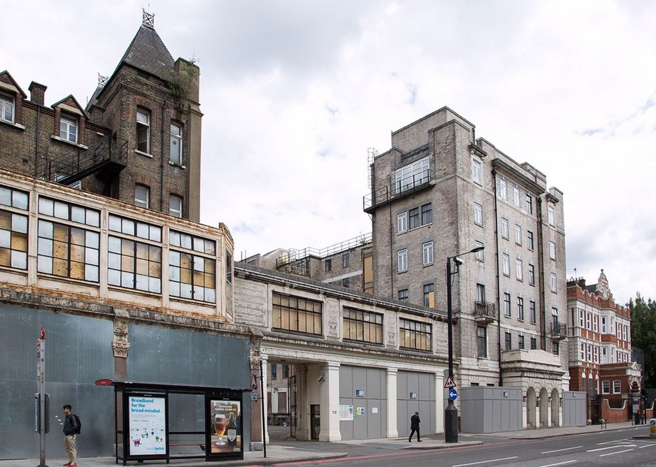 National Temperance Hospital before Its reworking.