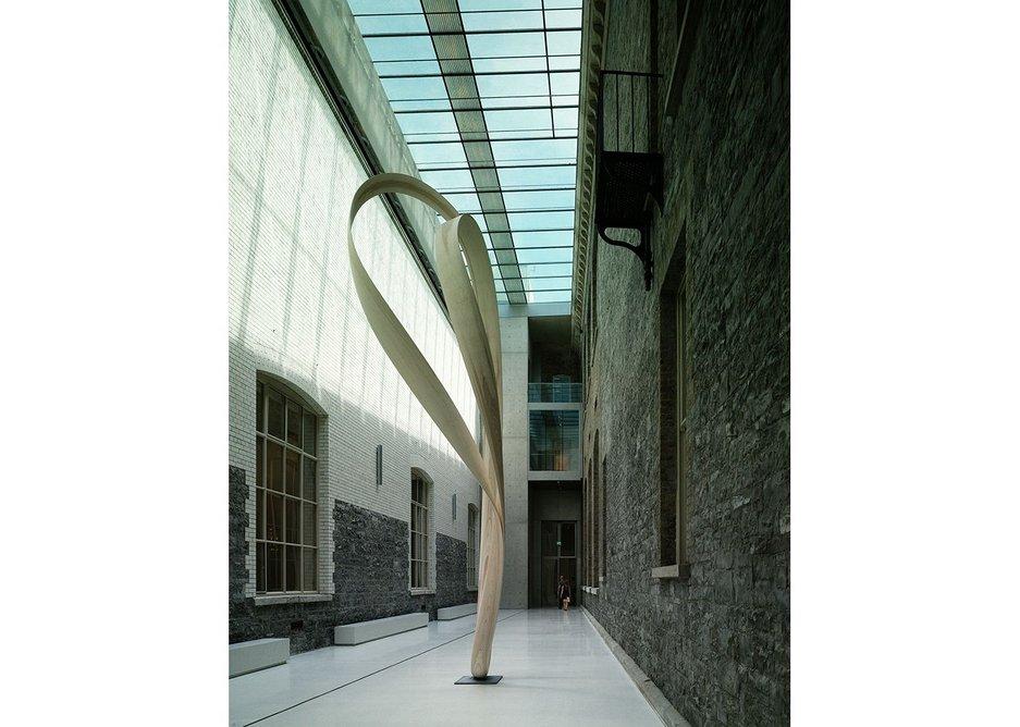 A new, light-filled sculpture court.