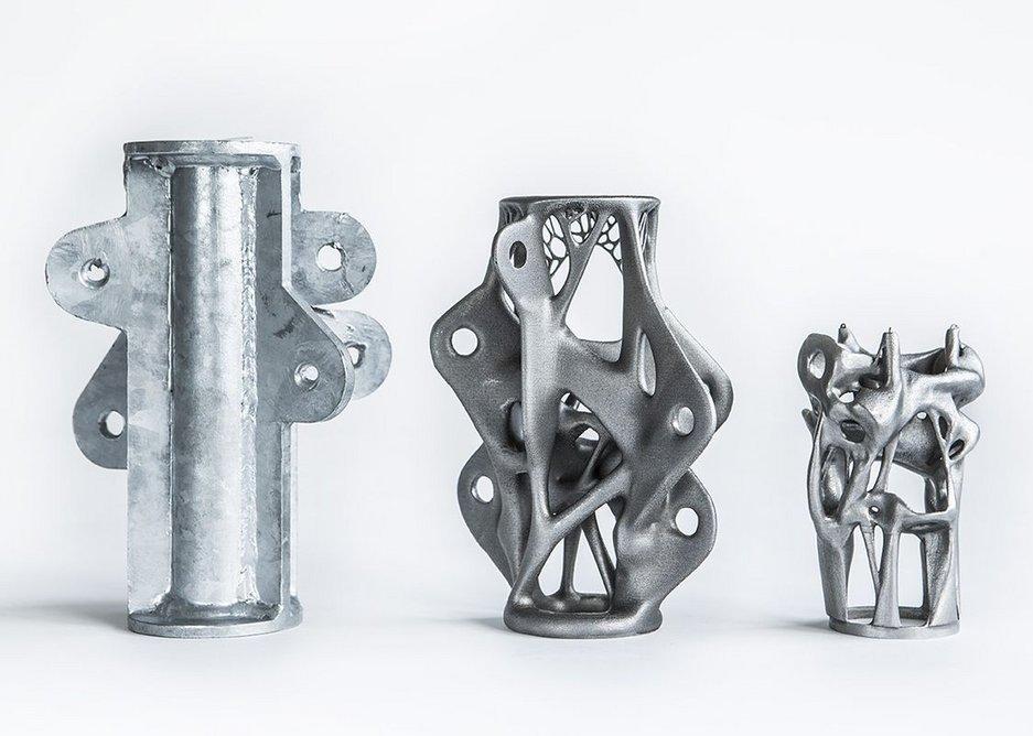 3D printed steel