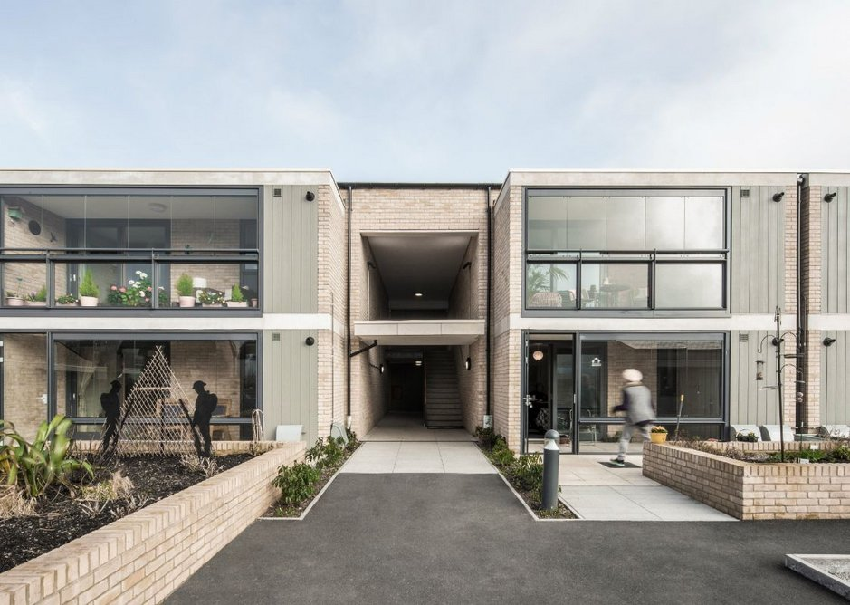To the north elevation K4 Architects has designed winter gardens which the tenants have spared no time in personalising.