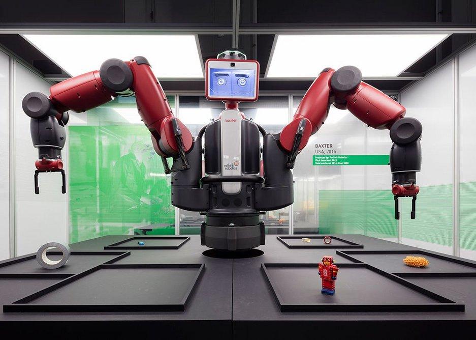 Baxter, a working robot.