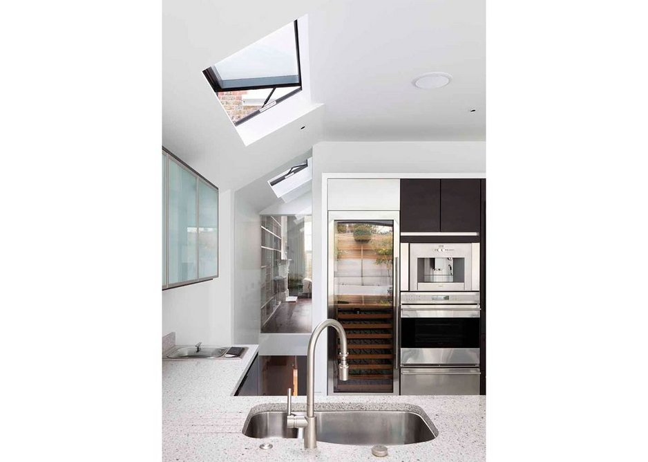 The Neo roof window features a top hinged opening (as opposed to centre-pivoted) to maximise the space below.