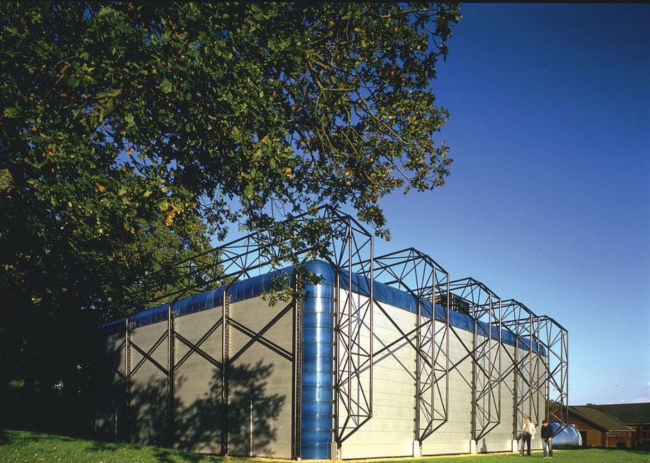 1980: Sports Hall for IBM, Winchester, UK.