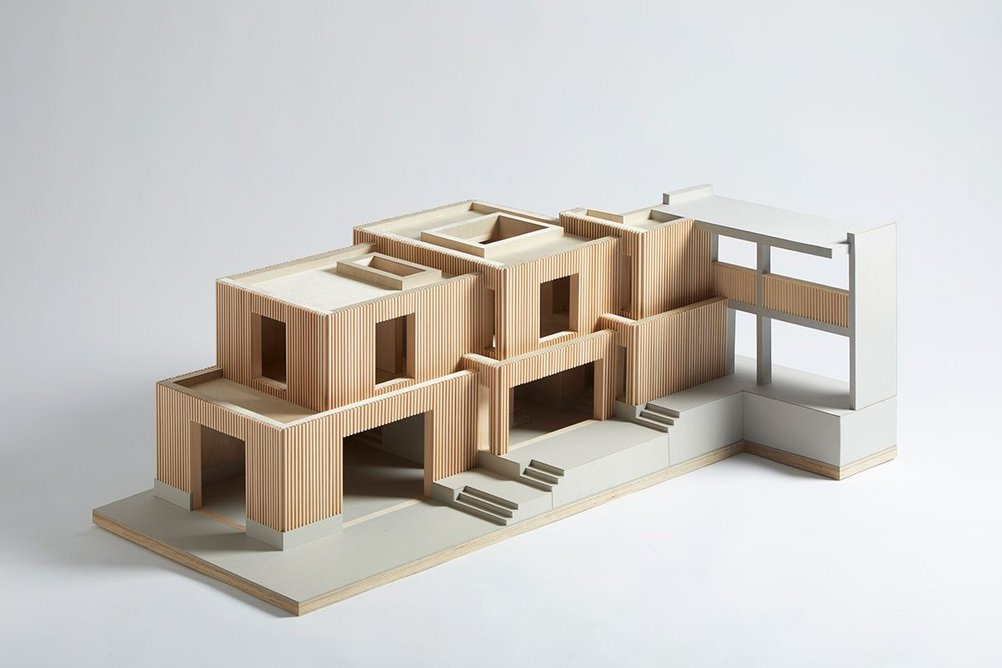 Segal House concept by Morris + Company.