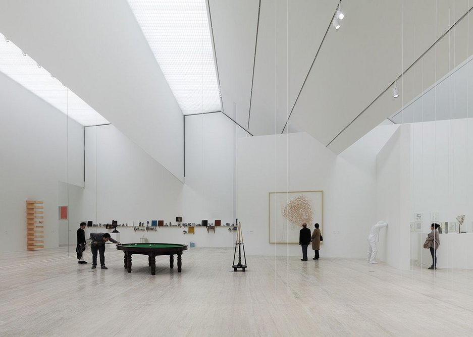 Museo Jumex, David Chipperfield Architects with Taller Abierto de Arquitectura y Urbanismo (TAAU) in Mexico City.