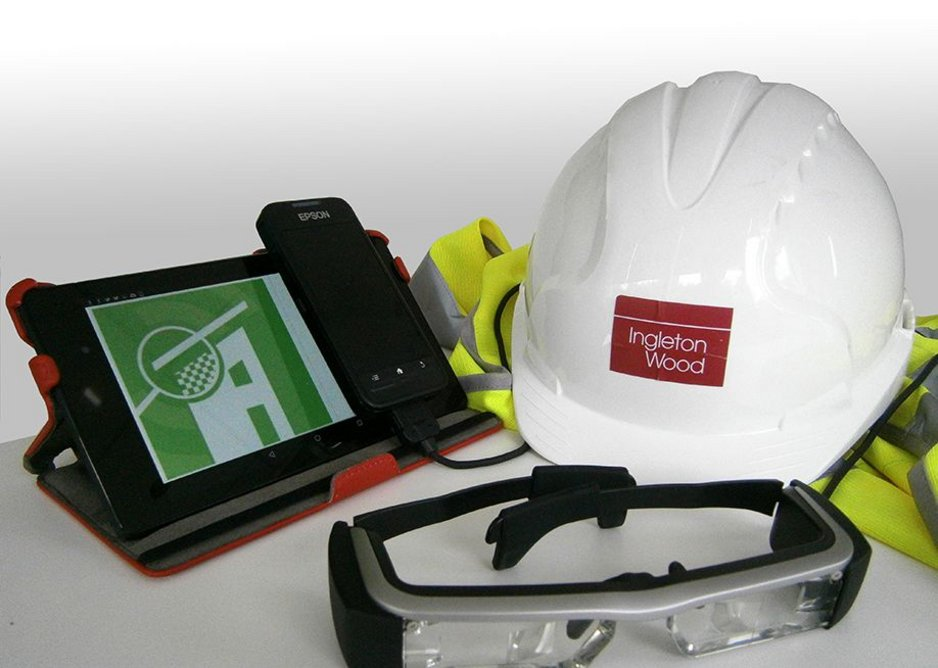 Could technology be made easier to use on site? ACCEPT's tools include Epson Moverio smart glasses and an Android platform.