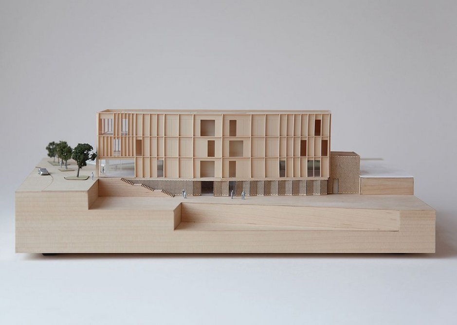 Kessler has worked on the community focussed King's Cross W3 building while at Haptic.