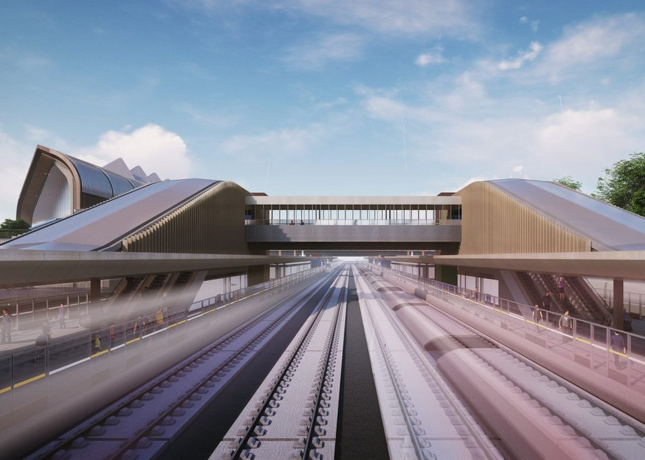 HS2 Interchange station, Solihull by Arup Architects
