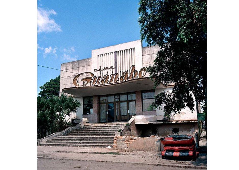 Cine Guanabo, Havana.