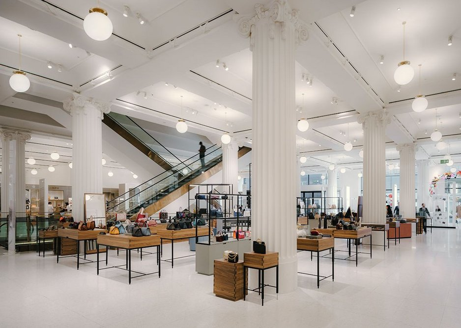 RIBA Regional Awards 2019 London West. Selfridges Duke St. David Chipperfield Architects for Selfridges.
