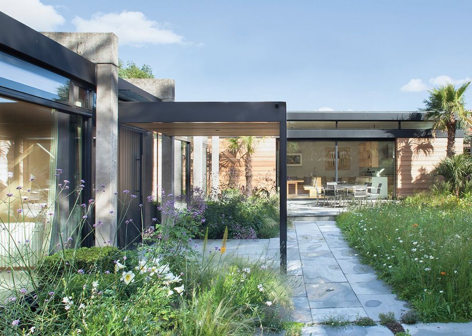 A new side extension replaces unsympathetic earlier additions.