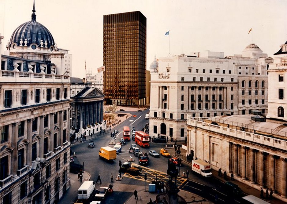 Mies-designed tower block for Mansion House Square scheme
