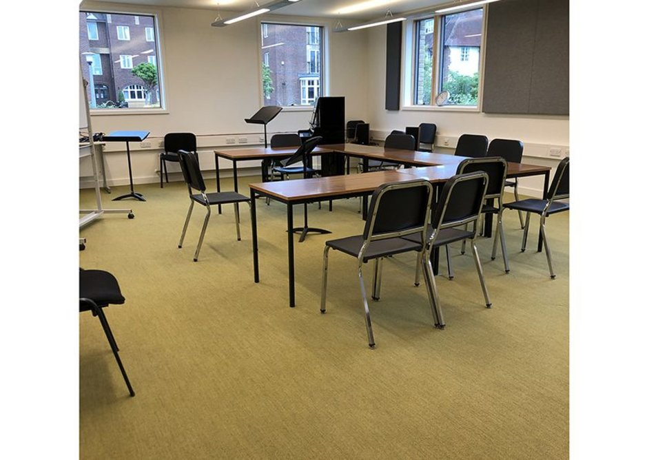 Sherborne Girls school in Dorset required a flooring solution for its new creative arts department and arts centre.