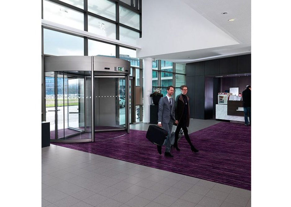 Coral Welcome entrance flooring.