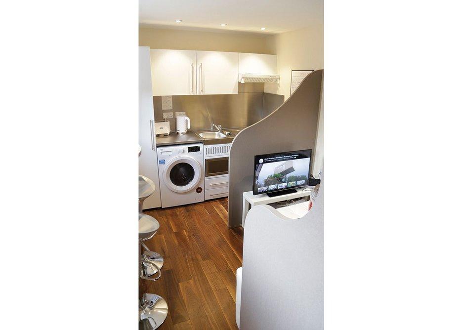 Kitchen/toilet drainage terminates under the front doorstep.